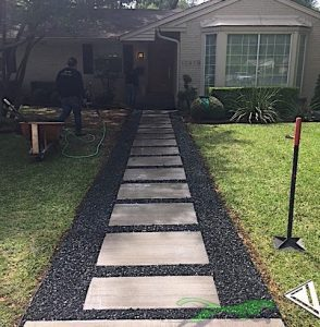 Finished Sidewalk Design